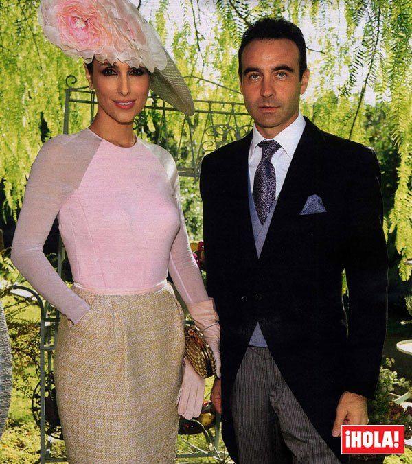 Enrique Ponce y paloma cuevas boda de Cayetano Rivera y Eva gonzalez