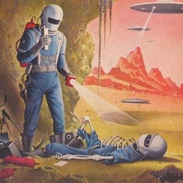 Image Result For 50s Sci Fi Art In 2019 70s Sci Fi Art
