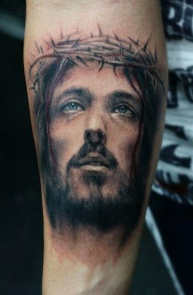 Tattoo Artist - Darwin Enriquez - Religious tattoo