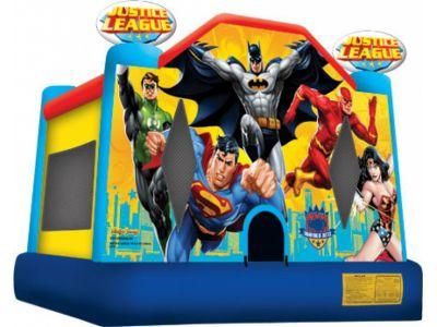 Justice League Bounce House Rental | Superhero Bouncer Rentals | Magic Jump Rentals