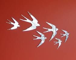 Image result for wall mirror birds