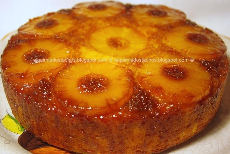 Pineapple Cake / Bolo de Ananás