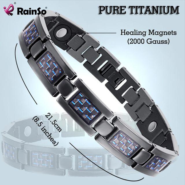 Wholesale Fashion Jewelry Bracelets & Bangles Bio Energy Healing Titanium Magnetic Bracelet Men Love Bracelet Gift OTB-1271 www.bernysjewels.com #bernysjewels #jewels #jewelry #nice #bags