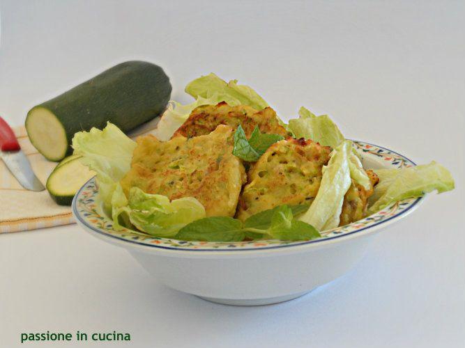 frittelle di zucchine-ricetta vegetariana
