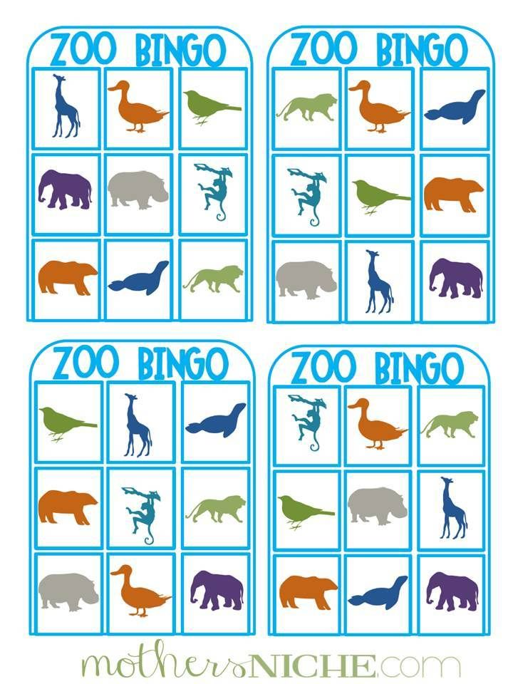 Our Day at the Zoo + Printable Zoo activities, Zoo