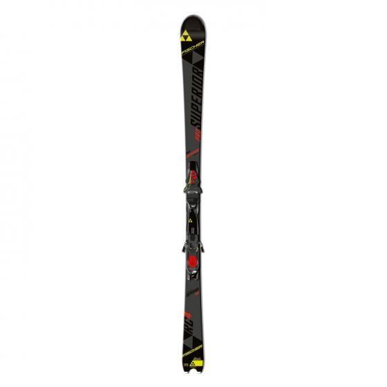 Skis alpins Fischer RC4 Superior Pro pour hommes (Fixations incluses)