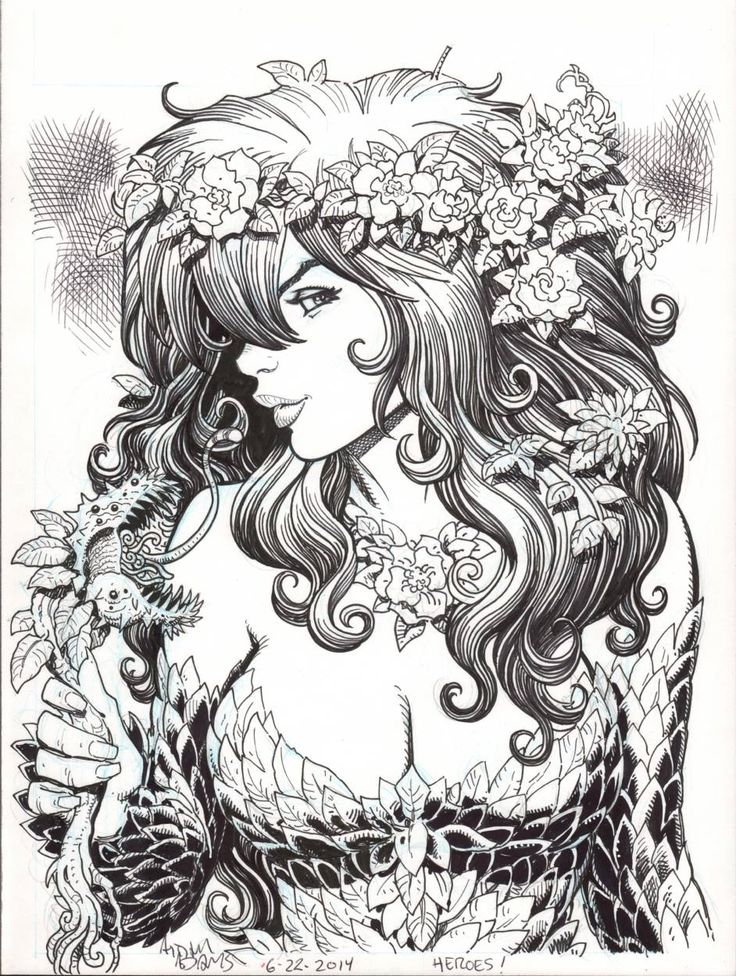 Poison Ivy by Arthur Adams *