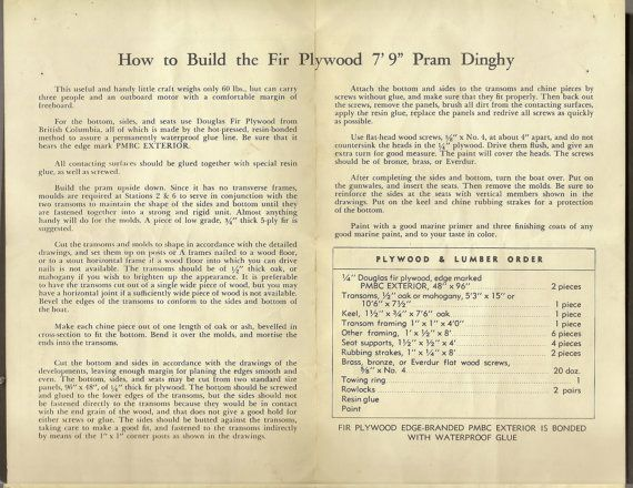Vintage publication from the Plywood Manufacturers Association of British Columbia.