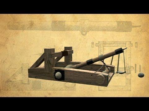 Mangonel Siege Artillery - Battle Castle with Dan Snow - YouTube