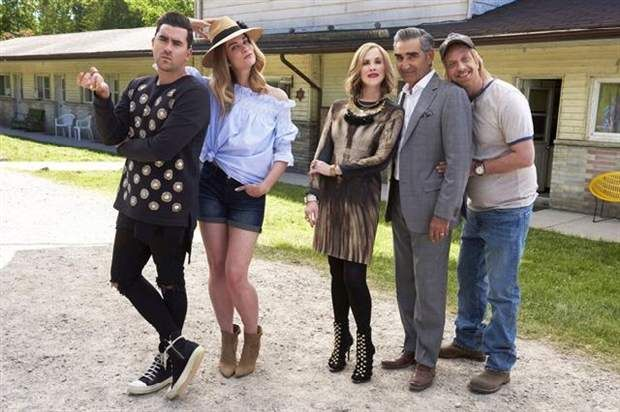"TORONTO - It would seem that the bonkers clan at the heart of ""Schitt's Creek"" is inching towards accepting their riches-to-rags reality. But rest assured, they will never fully shed their special brand of crazy, star Eugene Levy says as a third season of the hit CBC-TV series debuts Tuesday.   #Schitt's Creek‬ #‪Eugene Levy‬‬"