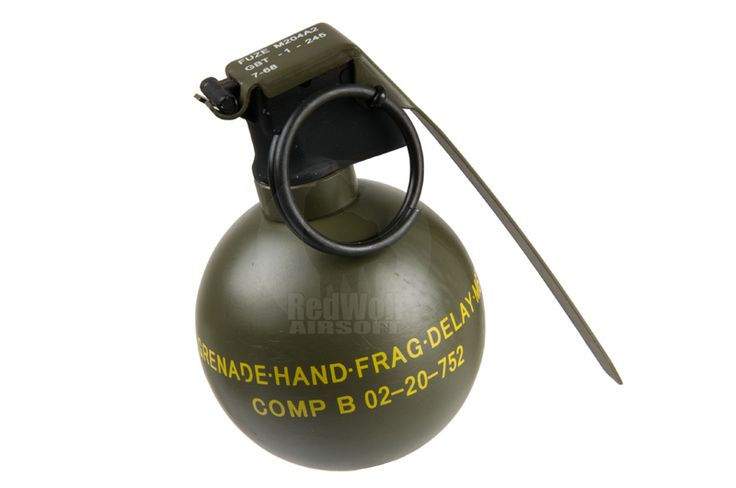 TMC Dummy M67 Grenade - Buy airsoft Accessories online from RedWolf Airsoft