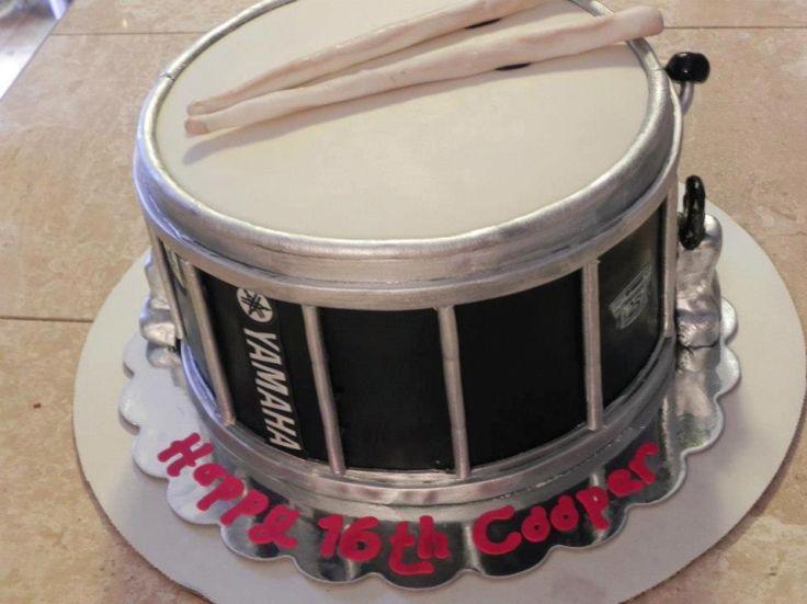 Yamaha Drum Cake
