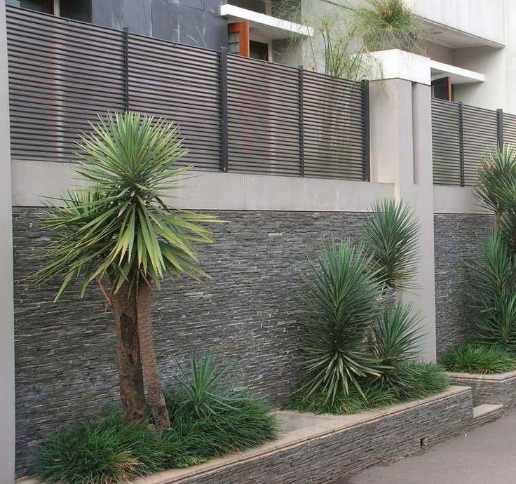 clôtures modernes de design minimaliste