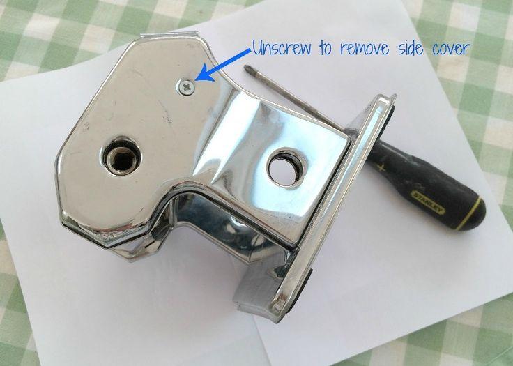 how to take apart a pasta machine
