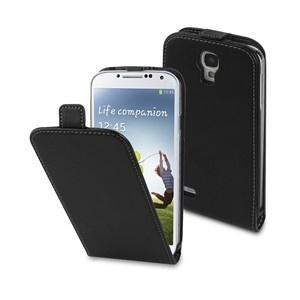 Funda Slim Negra + protector de pantalla Samsung I9500 Galaxy S4 Muvit