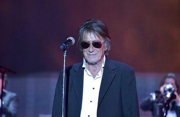 Les Vieilles Canailles Jacques Dutronc, Johnny Hallyday et Eddy Mitchell donnaient dimanche leur deuxième concert à Bercy...