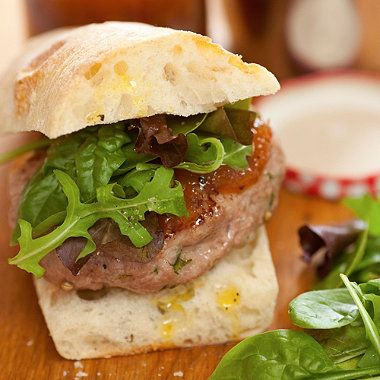 Wild Boar Burgers with Grasmere Gingerbread recipe - From Lakeland