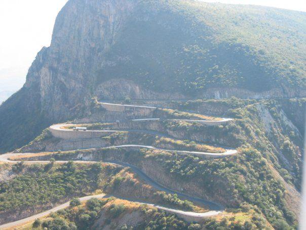 Road to Lubango, Angola