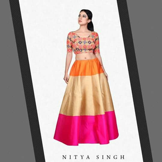Vivid colors epitomize the beauty.  #NityaSingh #Fashion #Colors