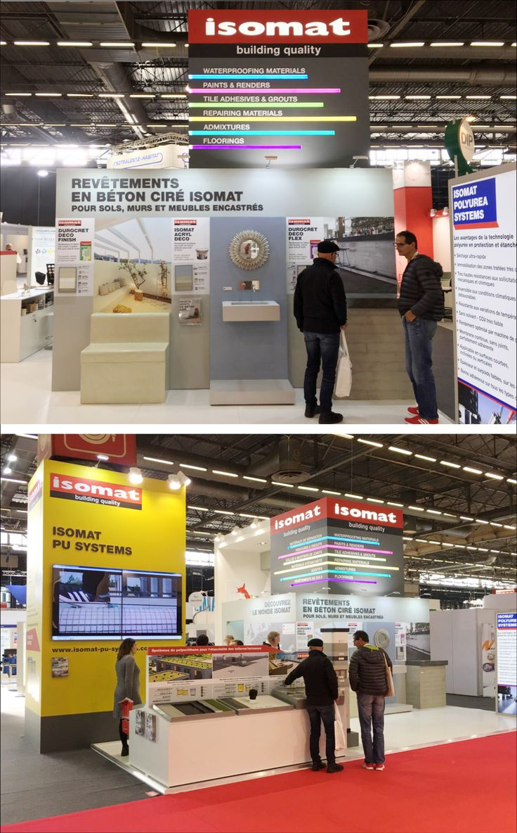 Today morning BATIMAT 2017 Fair has finally opened its doors to the public and ISOMAT's team is ready at Hall 6, Stand G168, to introduce the visitors to the company's wide product range and integrated construction solutions. Visit us and learn everything about our innovative polyurethane waterproofing systems ISOMAT PU SYSTEMS, our new, advanced Polyurea waterproofing systems, our microcement and decorative coatings, as well as our industrial floorings.
