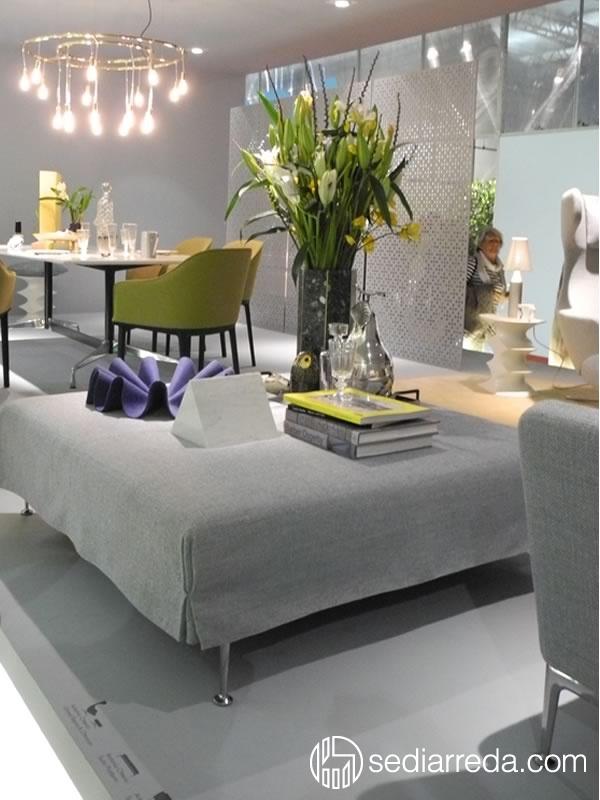 Elegant and refined furniture at Salone del Mobile 2013