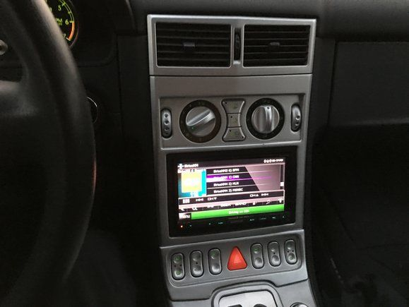 Fitting A Double Din Radio Crossfireforum The Chrysler