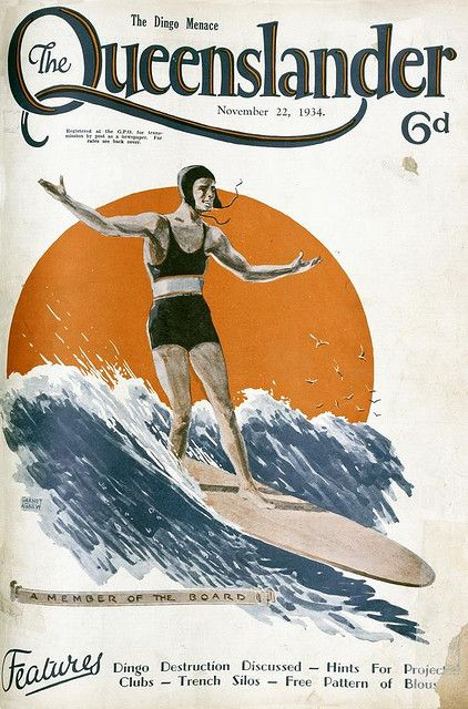Vintage Australian mag covers from the 1920's and 30's