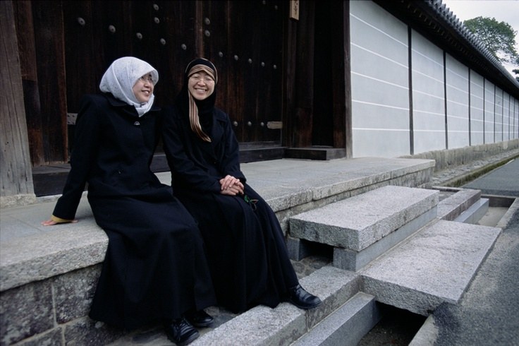 Japanese Muslim women, photography by Muslim photographer ...