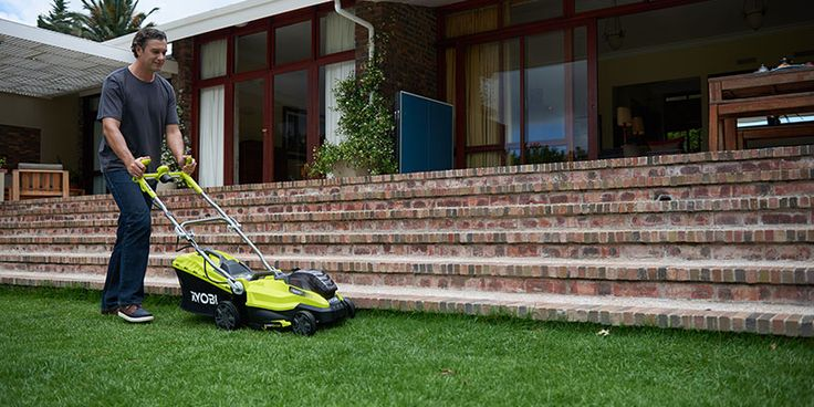Get your Graden in tip top shape with Ryobi Lawn Mowers