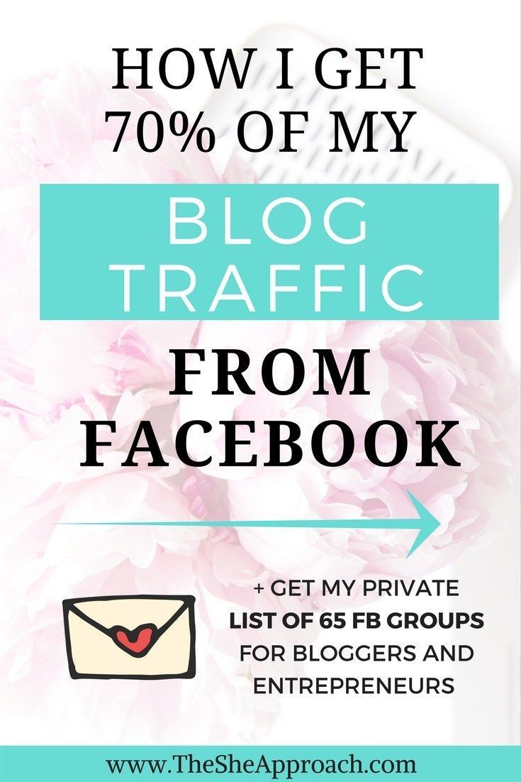 Struggling to grow your blog's audience? Read my best tips on how to get your blog traffic from Facebook and connect with your target readers. Blogging tips, social media tips for bloggers, blog traffic ideas, facebook groups for bloggers and creative entreprenerus.