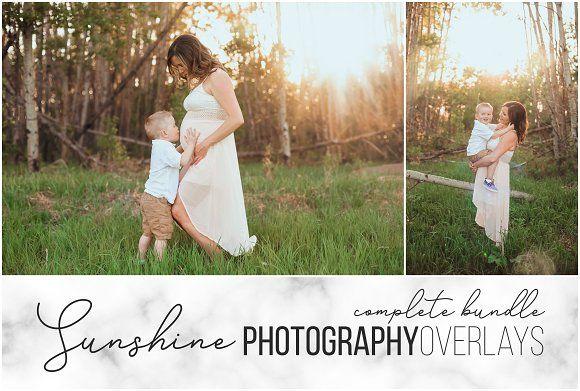 Sunshine Overlays Complete Bundle Sunshine Photography Bokeh