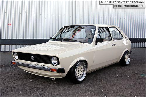 Stunning Mk1. #VW #Polo
