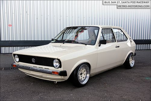 Stunning Mk1 #VW #Polo