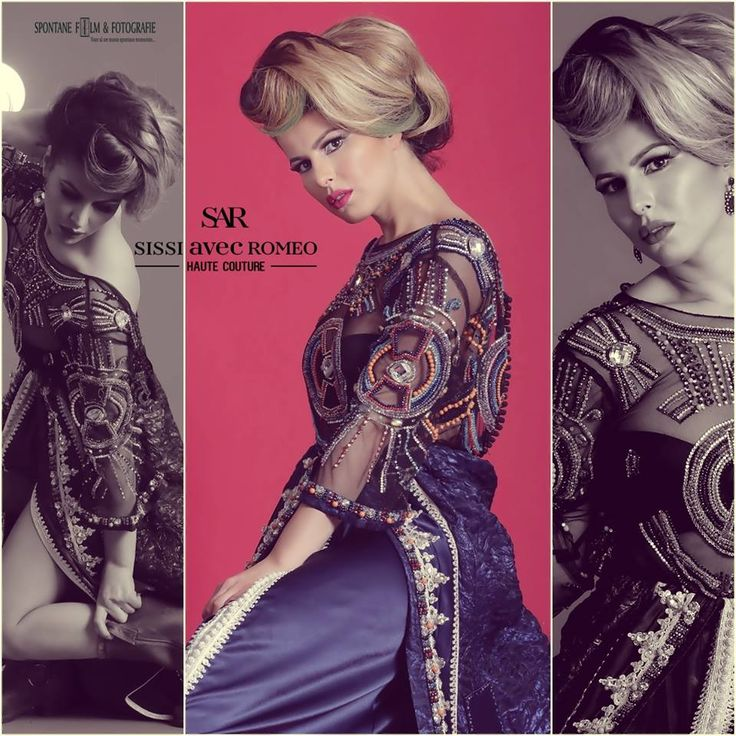 Photography by Spontane film en fotografie Designer Romeo Haute Couture MUAH Sissi Avec Romeo Model Nabila Meknouzi —