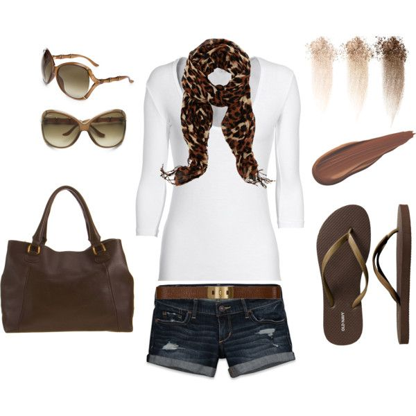 Brown&Leopard.;, created by khadijah-fennell....