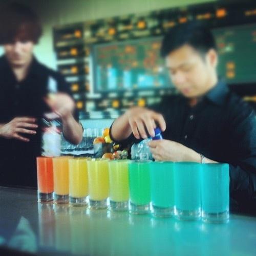 Whoop! #rainbow shots