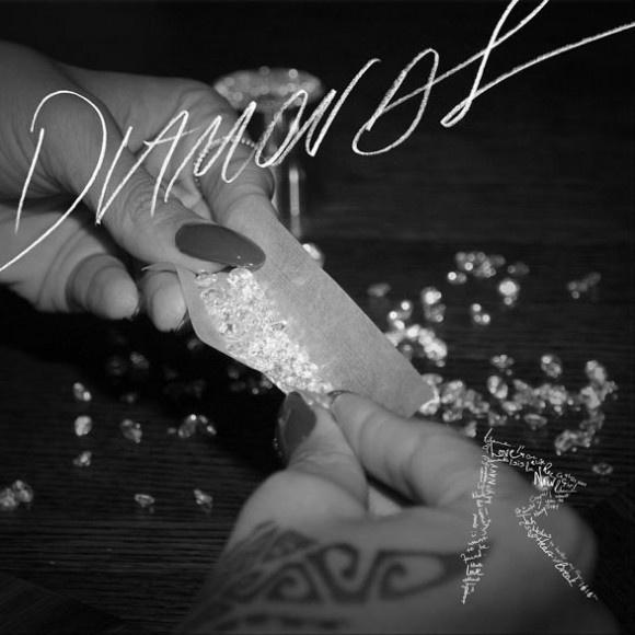Rihanna's album cover design 'Diamonds'
