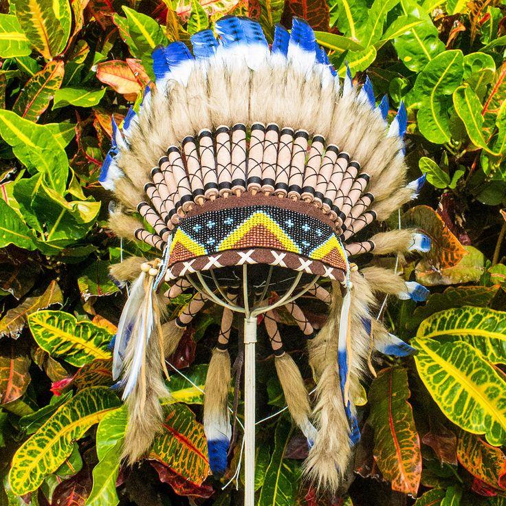 Great White Buffalo Native American Headdress Tattoo: Native American Headdress On Pinterest