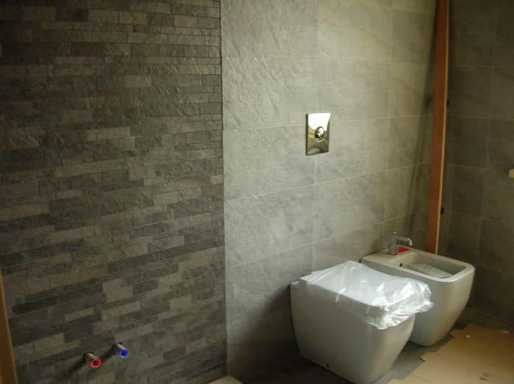 63 best images about bagno gi mik on pinterest ceramics - Mosaico grigio bagno ...