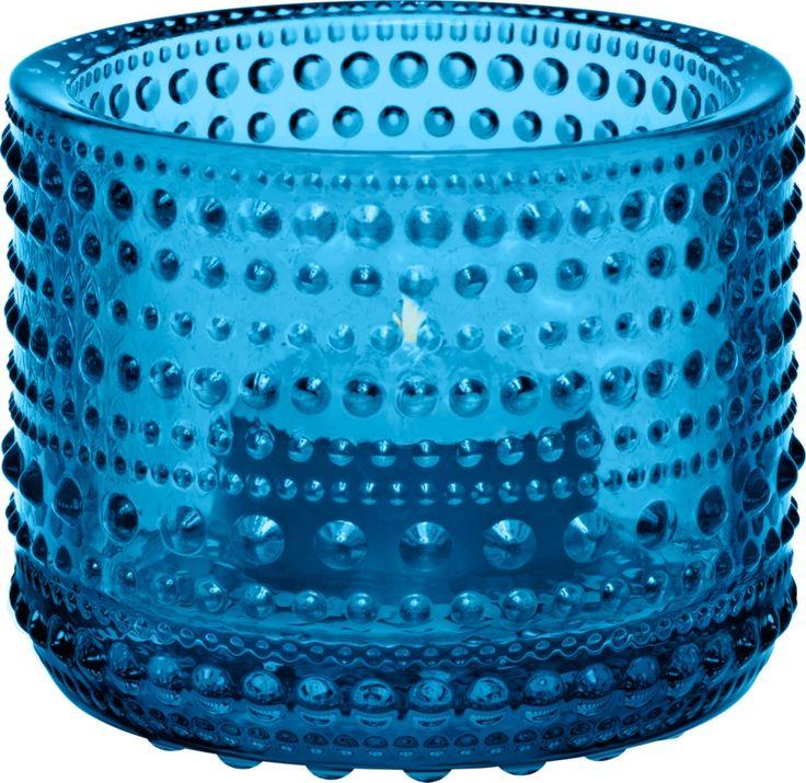 Iittala - Kastehelmi Votive 64 mm turquoise - Iittala.com