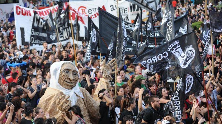 24 de Marzo: Día Nacional de la Memoria por la Verdad y la Justicia. Marchan en Buenos Aires el 24 de marzo de 2017, en el 41º aniversario del golpe de Estado Cívico Militar Genocida. (Martín Bonetto)