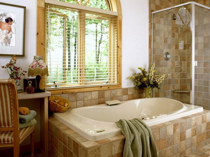 Шторы и жалюзи для ванной комнаты #blinds #window #interior #жалюзидляванной #ванная #шторы #жалюзи #декорокна #горизонтальныежалюзи