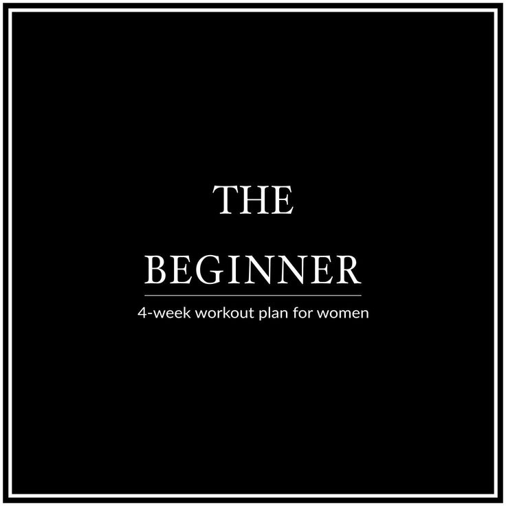 Are you new to working out? Our 4-week beginner workout plan for women is perfect to jump start your metabolism and improve your fitness level. Lose body fat, gain lean muscle mass and take back control of your life and health!