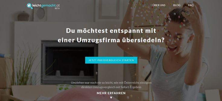leichtgemacht.at Beta - Österreichs erster Umzugsvergleich mit Sofortergebnis - ist soeben für alle, die in oder aus Wien und Umgebung umziehen möchten, online gegangen!  Hier könnt ihr loslegen und vergleichen: https://leichtgemacht.at/umzug/vergleich  #leichtgemacht #beta #startup #umzug #umziehen #übersiedlung #übersiedeln #moving #movingday #movingin #movingout #vienna #wien #preisvergleich #umzugsfirmen #angebote #kostenlos #gratis