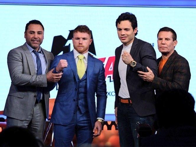 Canelo y Chávez Jr calientan su pelea en la CDMX | El Puntero
