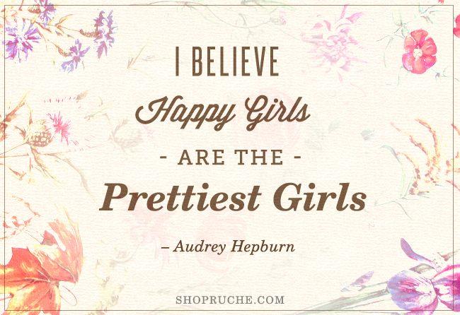 audrey hepburn quotes | Audrey Hepburn Quote / Ruche Blog