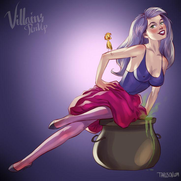 VIDÉO. Les méchantes de Disney imaginées en pin-up