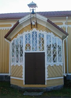 Beautiful porch in Siikainen.