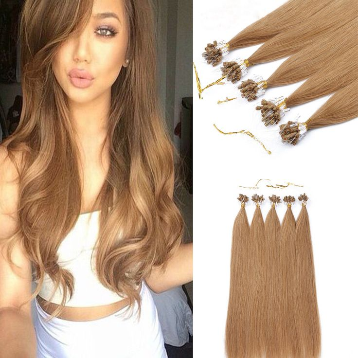 Best 25 micro ring hair extensions ideas on pinterest 18 22 blond micro loop hair extensions 1gs unprocessed virgin human pmusecretfo Image collections