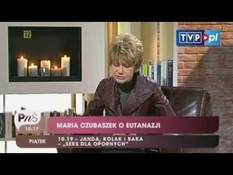 Pytanie na śniadanie - Maria Czubaszek stale szokuje
